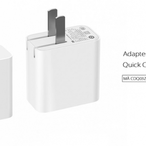 Adapter sạc Xiaomi 2 usb QC 3.0 CDQ03ZM